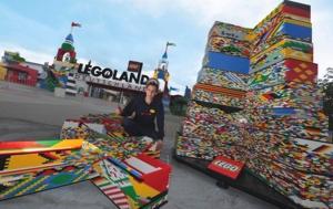 Neuer Weltrekord im LEGOLAND Deutschland – Der höchste LEGO Turm der Welt misst 35,47Meter