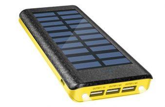 OLEBR Solar Ladegerät Powerbank 24000 mAh