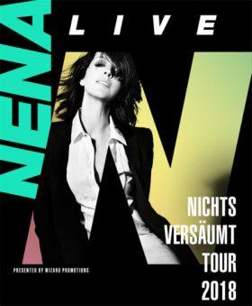 Nena Nichts Versäumt – Tour 2018