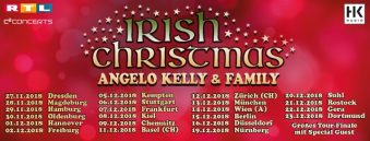 IRISH CHRISTMAS TOUR 2018