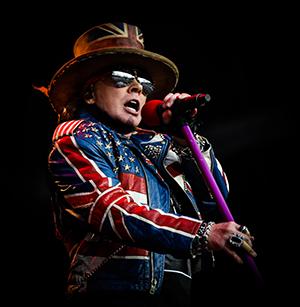 Guns N' Roses stürmen erneut nach Europa