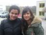 Am 25.03.07 war im Stuttgarter Zapata ein Konzert von ein paar ausgeschiedenen DSDS-Top-20-Kandidaten. Nadja hat dabei Laura Martin getroffen. Danke für das schöne Foto!