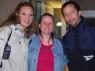 Nana mit Nancy und Rene´ nach dem Pirates of Dance Konzert. Danke für das schöne Bild!