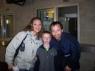 Kevin mit Nancy und Rene´ nach dem Pirates of Dance Konzert. Danke für das schöne Bild!