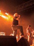 Partylaune bei den Donots und den Sportfreunden Stiller (06.07.2003)